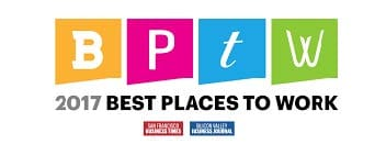 Best Places To Work, Silicon Valley Business Journal and San Francisco Business Times